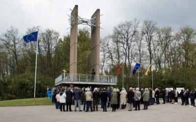 60. Jahrestag der Römischen Verträge am Europa-Denkmal Berus